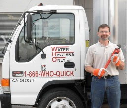 Water Heaters Only, Concord water heater service