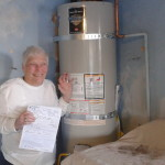 Water Heaters Only, Inc Concord Happy Customer